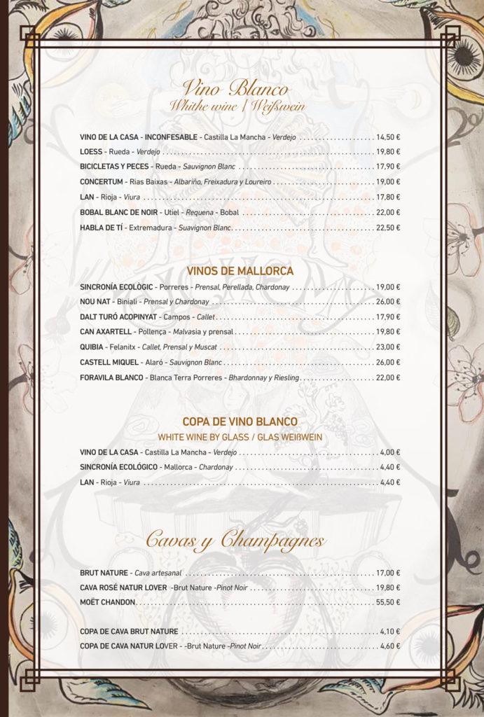 Vinos Alchemy Restaurant Santanyi